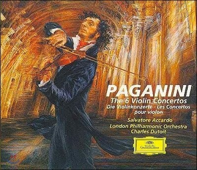 Salvatore Accardo 파가니니 : 바이올린 협주곡 전곡집 (Paganini : The Violin Concerto no.1~no.6)
