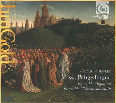 Marcel Peres 데프레 : 미사 '팡게 링구아' (Josquin Desprez : Missa 'Pange Lingua')