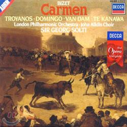 Bizet : Carmen : TroyanosㆍDomingoㆍVan DamㆍTe KanawaㆍSolti