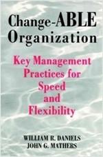 [영어원서 경영] Change-ABLE Organization - Key Management Practices for Speed and Flexibility (1997년) (Paperback)