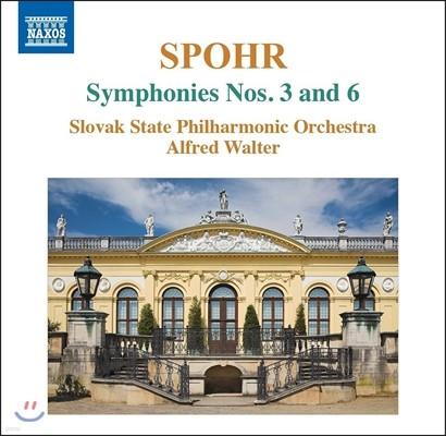 Alfred Walter 루이스 슈포어: 교향곡 3번, 6번 (Louis Spohr: Symphonies Op.78 & Op.116) 알프레드 발터, 슬로바키아 국립 필하모닉