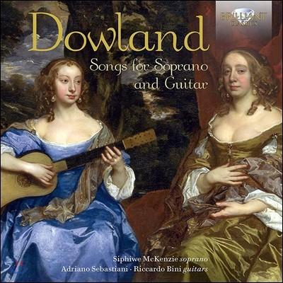 Siphiwe McKenzie 존 다울랜드: 소프라노와 기타를 위한 가곡집 (John Dowland: Songs for Soprano and Guitar) 시피웨이 맥켄지, 아드리아노 세바스티아니, 리카르도 비니