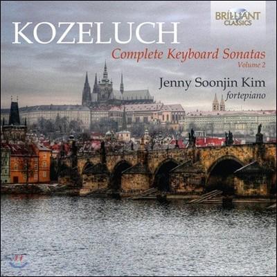 김순진 Jenny Soonjin Kim 레오폴트 코젤루흐: 키보드 소나타 작품 전곡 2집 [포르테피아노 연주반] (Leopold Kozeluch: Complete Keyboard Sonatas Vol.2)