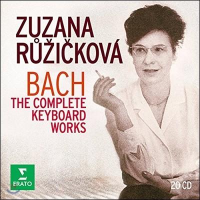Zuzana Ruzickova 주자나 루지치코바 - 바흐: 키보드 작품 전집 (J.S. Bach: The Complete Keyboard Works)