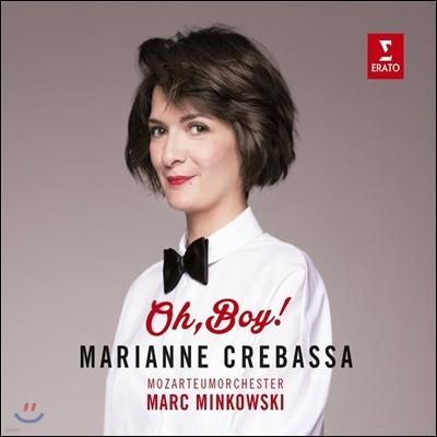 Marianne Crebassa / Marc Minkowski 마리안느 크레바사 오페라 남성 캐릭터 아리아집 - 오 보이! (Oh, Boy!)