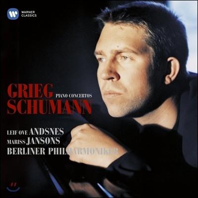 Leif Ove Andsnes / Mariss Jansons 그리그 / 슈만: 피아노 협주곡 (Grieg / Schumann: Piano Concertos) 레이프 오베 안스네스, 마리스 얀손스