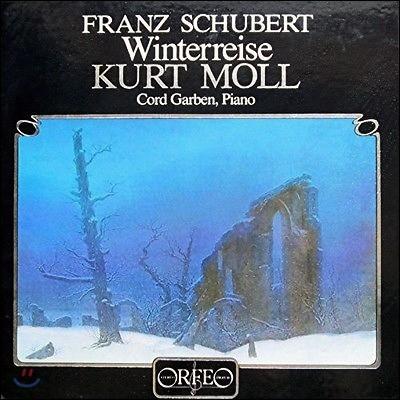Kurt Moll 슈베르트: 가곡 '겨울 나그네' (Schubert: Winterreise D.911) 쿠르트 몰 [2LP]