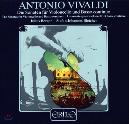 Julius Berger 비발디: 첼로 소나타 (Vivaldi: Cello Sonatas Nos. 1-9, RV39-47) 율리우스 베르거 [2LP]