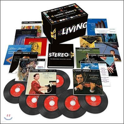 리빙 스테레오 리마스터 에디션 60CD 박스세트 (Living Stereo - The Remastered Collector's Edition)