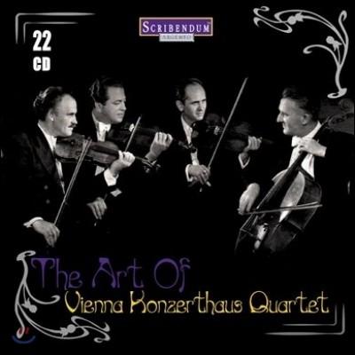 빈 콘체르트하우스 사중주단 명연주 모음집 (The Art of Vienna Konzerthaus Quartet)