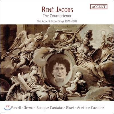 르네 야콥스, 카운터테너 - 퍼셀 / 글룩 / 독일 바로크 칸타타 외 (Rene Jacobs, the countertenor - The Accent Recordings 1978-1982)
