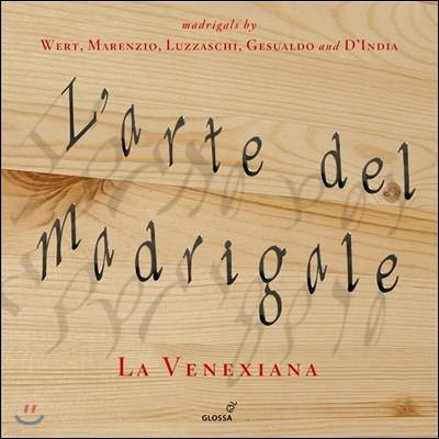 La Venexiana 마드리갈의 예술 - 데 베르트 / 제수알도 / 마렌치오 / 딘디아 / 루차스키 (L'Arte del Madrigale - Wert, Marenzio, Luzzaschi, Gesualdo and D'India) 라 베네시아나