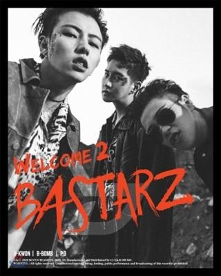 블락비 바스타즈 (Block B - BASTARZ) - 미니앨범 2집 : Welcome 2 Bastarz