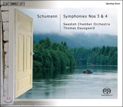 Thomas Dausgaard 슈만: 교향곡 3, 4번 외 (Schumann: Symphonies etc.)