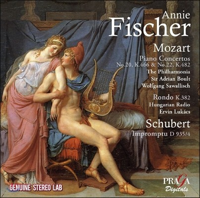 Annie Fischer 모차르트: 피아노 협주곡 20번, 22번, 론도 1번 / 슈베르트: 즉흥곡 (Mozart: Piano Concertos K.466 & 482, Rondo / Schubert: Impromptu D.935/4) 애니 피셔