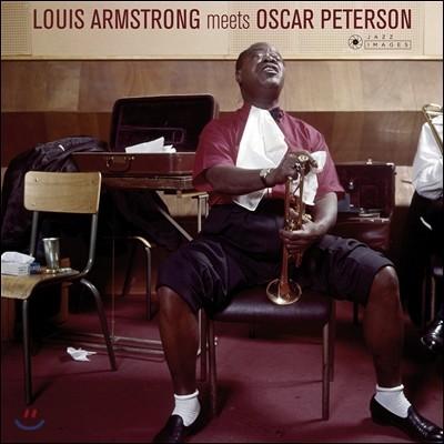 Louis Armstrong & Oscar Peterson (루이 암스트롱, 오스카 피터슨) - Louis Armstrong Meets Oscar Peterson [LP]