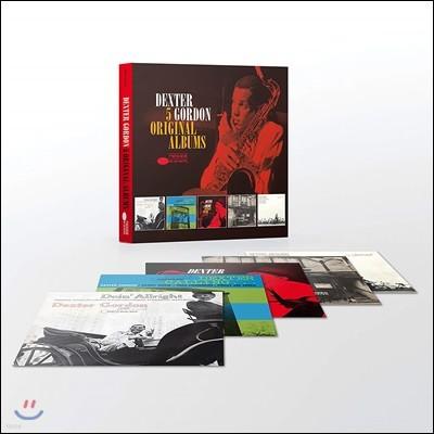 Dexter Gordon - 5 Original Albums 덱스터 고든 오리지널 앨범 5CD 박스 세트