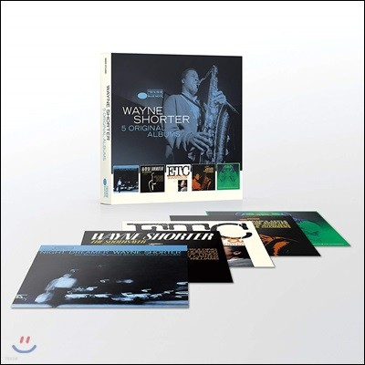 Wayne Shorter - 5 Original Albums (With Full Original Artwork) 웨인 쇼터 오리지널 앨범 5CD 박스 세트