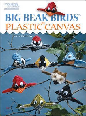 Big Beak Birds in Plastic Canvas