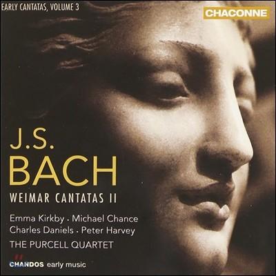 Emma Kirkby 바흐: 초기 칸타타 3권 바이마르 2집 - 엠마 커크비, 퍼셀 사중주단 (J.S. Bach: Early Cantatas Vol.3 - Weimar Cantatas II BWV172, 182, 21)