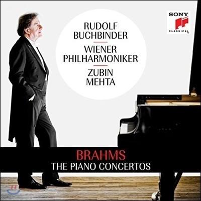 Rudolf Buchbinder / Zubin Mehta 브람스: 피아노 협주곡 1번, 2번 - 루돌프 부흐빈더, 주빈 메타, 빈 필 (Brahms: The Piano Concertos Op.15 & Op.83)