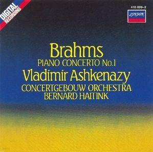 Vladimir Ashkenazy, Bernard Haitink / 브람스 : 피아노 협주곡 1번 (Brahms : Piano Concerto No.1 Op.15) (수입/4101992)