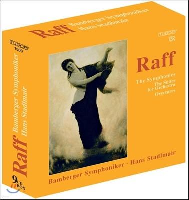 Hans Stadlmair 요아힘 라프: 교향곡 1-11번 전곡, 관현악 모음곡, 서곡집 (Joachim Raff: Symphonies, Suites for Orchestra, Overtures) 한스 슈타들마이어, 밤베르크 심포니