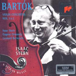 Bartok : Violin Concerto No.1 & 2 : Isaac Stern