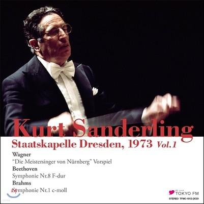 Kurt Sanderling 브람스: 교향곡 1번 / 베토벤: 교향곡 8번 / 바그너: 뉘른베르크의 명가수 전주곡 (Beethoven / Brahms: Symphonies / Wagner) 쿠르트 잔덜링