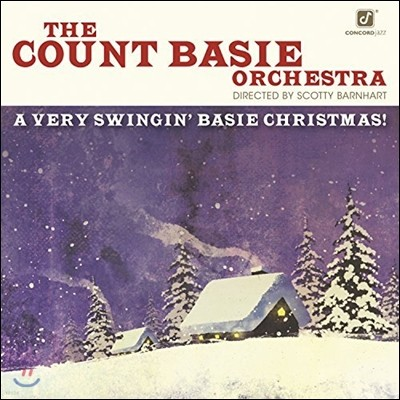 Count Basie Orchestra (카운트 베이시 오케스트라) - A Very Swingin' Basie Christmas! [LP]