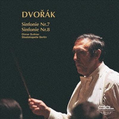 드보르작: 교향곡 7, 8번 (Dvorak: Symphony No.7, 8) (UHQCD)(일본반) - Otmar Suitner
