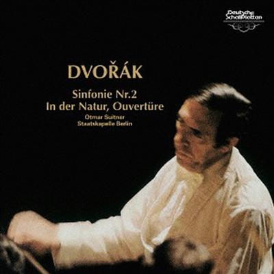 드보르작: 교향곡 2번, '자연의 왕국에서' 서곡 (Dvorak: Symphony No.2, In Nature's Realm Overture Op.91) (UHQCD)(일본반) - Otmar Suitner