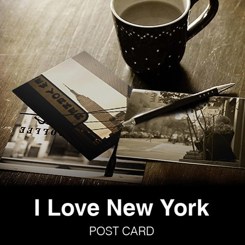 I LOVE NEW YORK - Post card