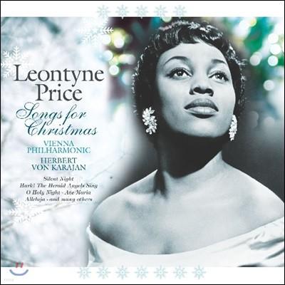 Leontyne Price 크리스마스 캐럴 앨범 - 레온타인 프라이스 (Songs for Christmas) [그린 컬러 LP]