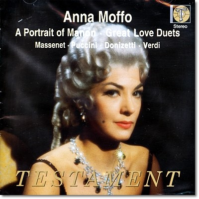 Anna Moffo 마농의 초상 - 안나 모포 오페라 이중창집 (A Portrait of Manon & Great Love Duets)