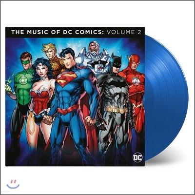 DC 코믹스컴필레이션 2집 (The Music of DC Comics: Volume 2) [투명 블루 컬러디스크 2LP]