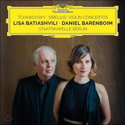 Lisa Batiashvili 차이코프스키 / 시벨리우스: 바이올린 협주곡 - 리사 바티아슈빌리 (Tchaikovsky / Sibelius: Violin Concertos)
