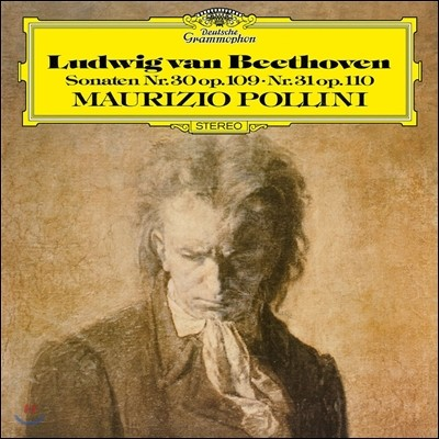 Maurizio Pollini 베토벤: 피아노 소나타 30, 31번 - 마우리치오 폴리니 (Beethoven: Piano Sonatas Op.109 & Op.110) [LP]
