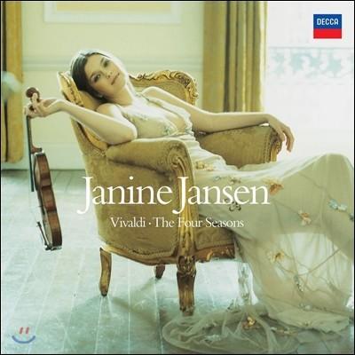 Janine Jansen 비발디: 사계 - 야니네 얀센 (Vivaldi: The Four Seasons) [180g LP]