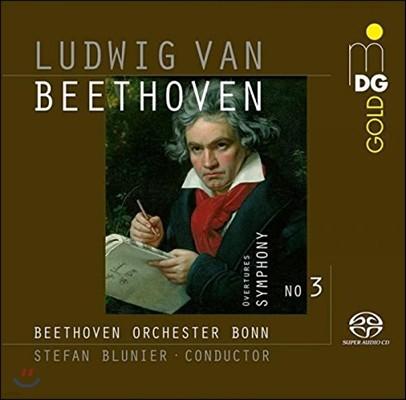 Stefan Blunier 베토벤: 교향곡 3번 '영웅', 헌당식 서곡, 스테판왕 서곡 (Beethoven: Symphony Op.55 'Eroica', Konig Stephan Overture, Die Weihe des Hauses Op.124)
