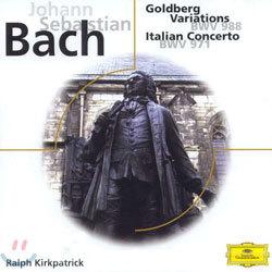 Ralph Kirkpatrick 바흐: 골드베르크 변주곡, 이탈리아 협주곡 (Bach : Goldberg VariationsㆍItalian Concerto)