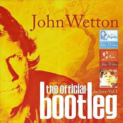 John Wetton - Official Bootleg Archive Vol. 1 (6CD Boxset)