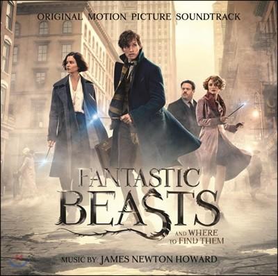 신비한 동물사전 영화음악 (Fantastic Beasts And Where To Find Them OST by James Newton Howard 제임스 뉴튼 하워드) [2 LP]