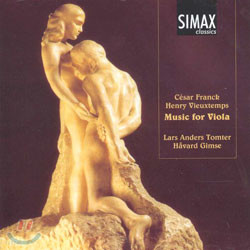 VieuxtempsㆍFranck : Music For Viola : Lars Anders TomterㆍHavard Gimse