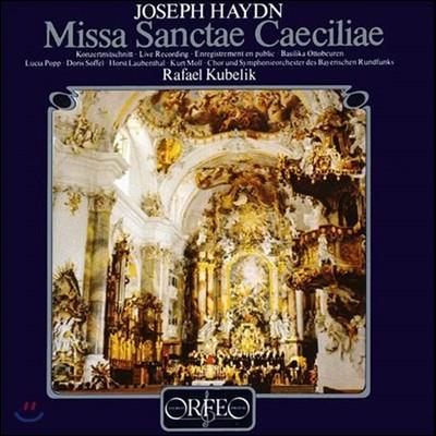 Rafael Kubelik / Lucia Popp 하이든: 성 체칠리아를 위한 미사 (Haydn: Missa Sanctae Caeciliae) 루치아 포프, 쿠르트 몰, 라파엘 쿠벨릭, 바이에른 방송 교향악단과 합창단 [2LP]