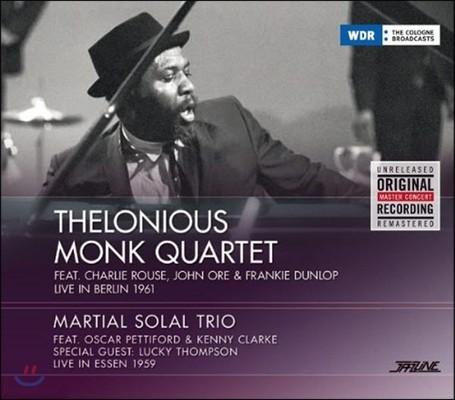 Thelonious Monk Quartet (셀로니어스 몽크 쿼텟) - Live In Berlin 1961 (1961년 베를린 라이브)