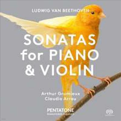 베토벤: 바이올린 소나타 5 '봄', 1번 (Beethoven: Violin Sonata No.5 'Spring' & 1) (SACD Hybrid) - Arthur Grumiaux