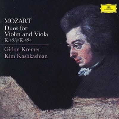 모차르트: 바이올린과 비올라를 위한 이중주 (Mozart: Duos for Violin & Viola K.423 & K424) (Ltd. Ed)(일본반) - Gidon Kremer