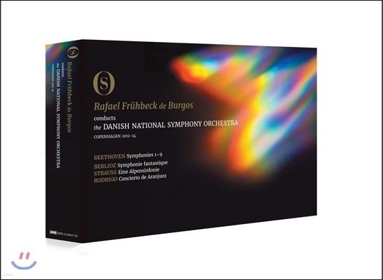Rafael Fruhbeck de Burgos 베토벤: 교향곡 1-9번 전곡 외 3곡 실황 (Beethoven: The Complete Symphonies) 라파엘 프뤼벡 데 부르고스, 덴마크 국립 교향악단