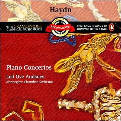 하이든 : 피아노 협주곡 4, 3, 11번 - NCO, 안스네스